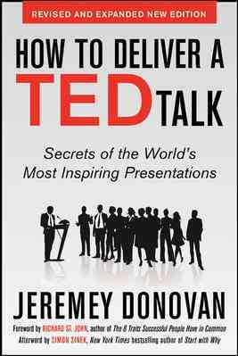 How to Deliver a Ted Talk By Donovan, Jeremey